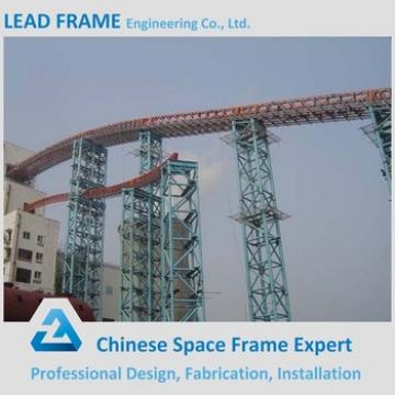 Professional Design Steel Space Frame Trestle Bridge For Coal Mine