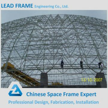 Large Scale Steel Dome Space Frame Building For Coal Power Plant