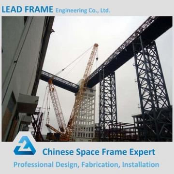 Light Weight Belt Conveyor Steel Trestle For Power Plant Coal Storage