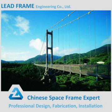 Hot Sale Steel Structure Portable Steel Bridge Project
