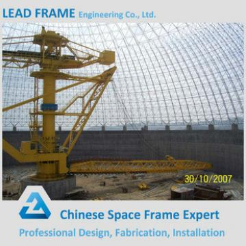 Steel Space Frame Coal Shed Dome Building with High Standard