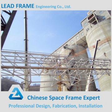 Light steel structure trestle bridge