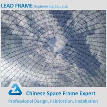 Lightweight Frame Structural Steel Dome Roof