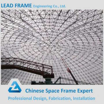 long span light weight steel cement plant space framing