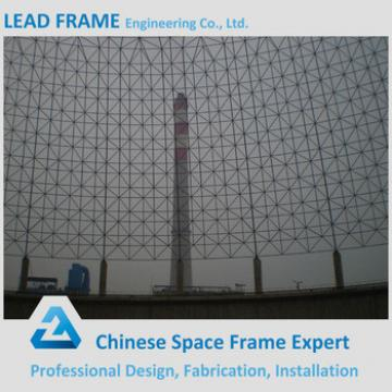 White Color Struktur Space Frame Coal Fired Power Plant