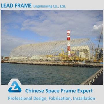 High Quality Arched Stainless Steel Grid Frame Prefab Steel Buildings