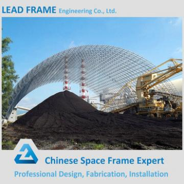 Famous Customized Light Steel Truss Space Frame Curved Roof Structures