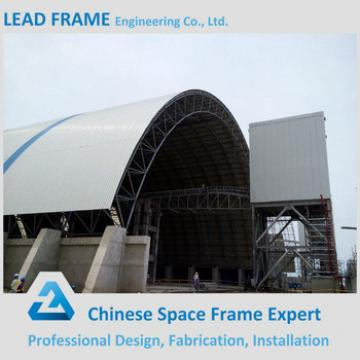 Prefabricated steel structure spaceframe