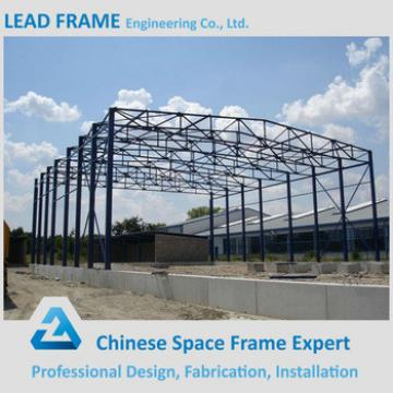 easy assemble prefabricated steel structure space frame arched roof truss
