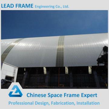 Large Span Light Steel Power Plant Coal Bunker Roofing Shed
