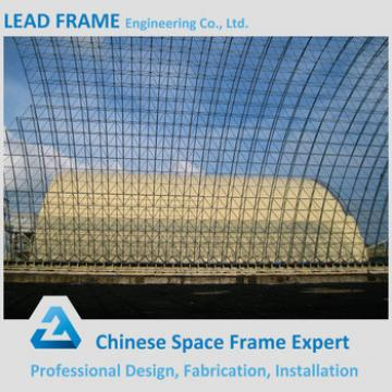 50MW Power Plant With Large Span Arch Roof Steel Frame Coal Storges