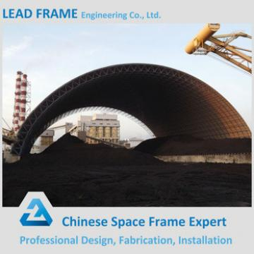 Galvanized steel frame structure large coal storage