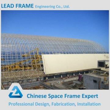 Large Span Storage Shed Galvanized Tube Space Frame