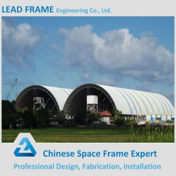 Good quality dome roof cover light steel coal storage