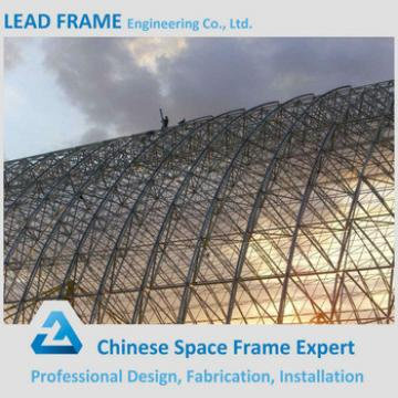 Space Grid Structure Economic Steel Frame Arch Roof