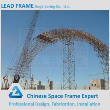 long span steel structure shed for barrel coal storage