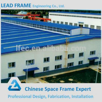 Light weight economical faster steel frame godown