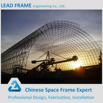 Power Plant Light Steel Structure Arch Storage Building