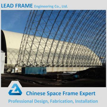 Power plant space frame new design steel coal shed