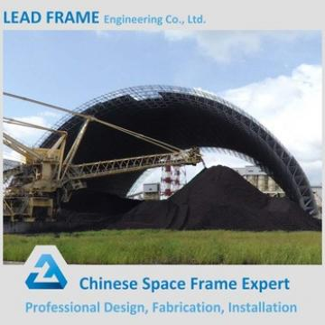Lightweight Steel Space Frame Dry Coal Shed Storage for Power Plant