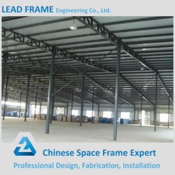 long span prefabricated curved steel building warehouse