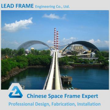 Long Span Anti-seismic Performance Space Frame Roof Structural 100 mw Power Plant