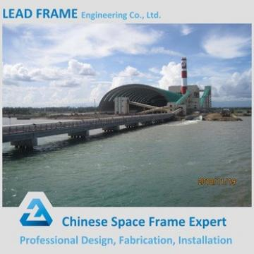 50 Years Useful Life Wide Span Barrel Coal Shed with Low Price