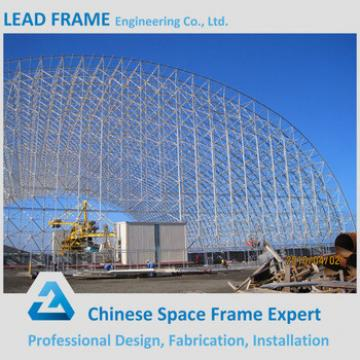 High Quality Barrel Storage Prefab Steel Structure Shed for Coal Power Plant