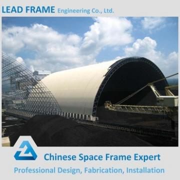 Light Long Span Coal Shed by Single Steel Sheet Cover
