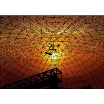 metal structure construction space frame fireproof shed