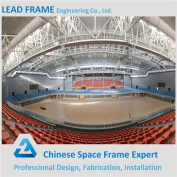 light weight large span steel structrue space frame for sports building