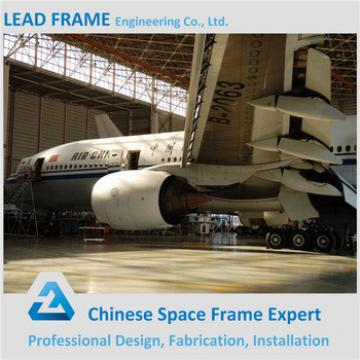Stacbed Steel Structure Framed Roof Floding Hangar Door For Aircraft Hangar