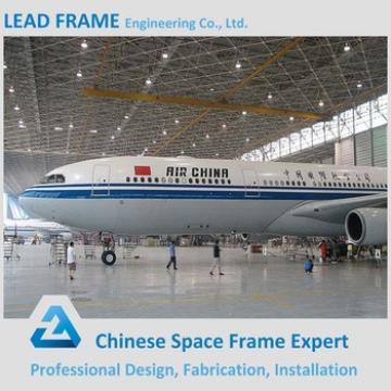Plane Hangar Metal Rooring Steel Space Frame