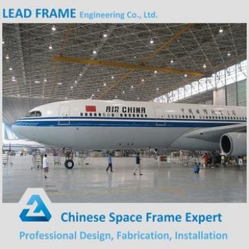 Prefab Long Span Space Frame System Steel Structure Hangar