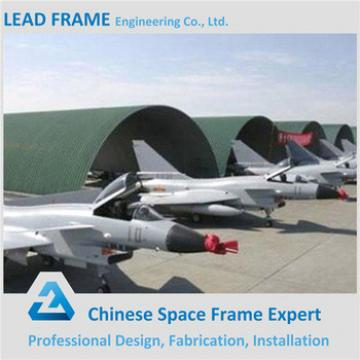 China Prefabricated Long Span Space Frame Strucuture Coal Shed Aircraft Hangar Construction