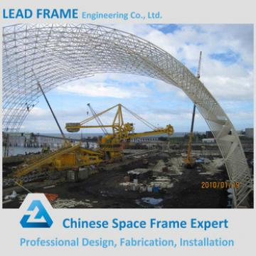 Lightweight Space Frame Coal Shed for Power Station