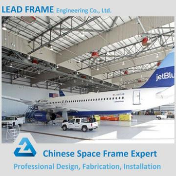 galvanized cheap airplane arch hangar