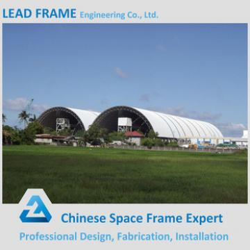 Long Span Longitudinal Steel Roof Covering for Storage Shed