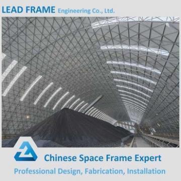 Prefabricated Barrel Steel Space Frame for Bulk Storage Shed