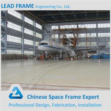 Long span portable aircraft hangar