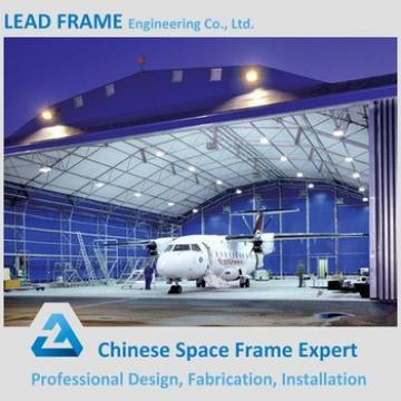 Prefab light steel hangar for plane