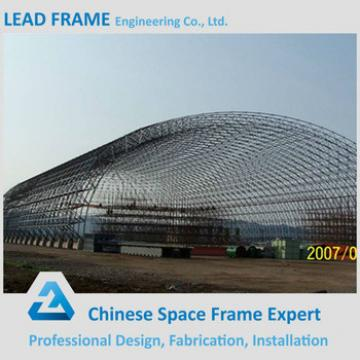 modrate price space frame roofing for barrel coal storage