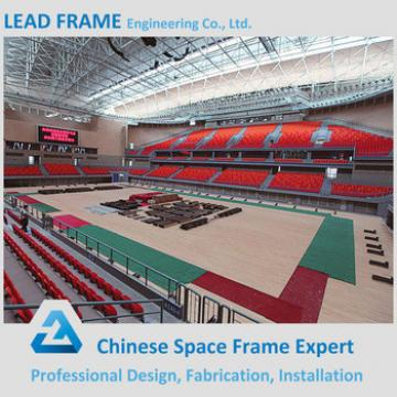 Prefab Clear Skylight Roof Steel Structure Gymnasium Design