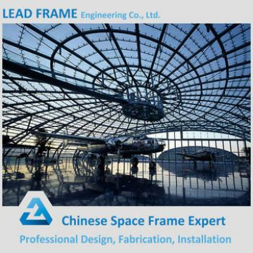 Low cost arch steel frame buildings airplane hangar