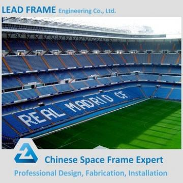 Modern prefab steel structure football stadium
