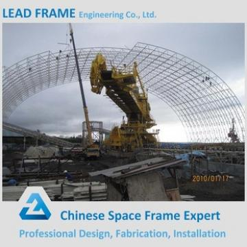 Roof Design Space Frame Structure for Prefabricated Coal Shed