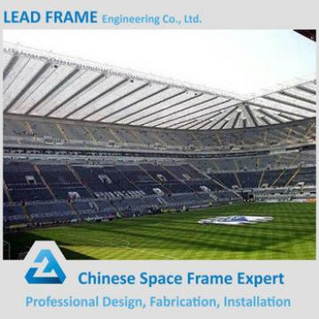 Galvanized Roof Material Space Grid Frame Large Span Space Grid Frame Steel Structure Building for Stadium