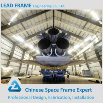 practical design prefabricated aircraft hangar