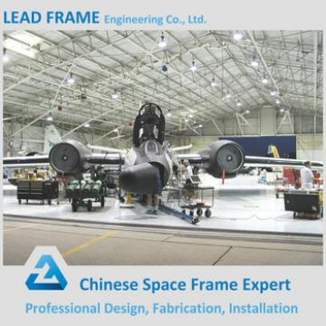 Column-free steel structure space plane covers