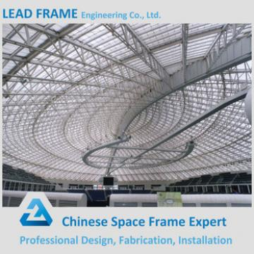 Prefab steel grid structure stadium roof material